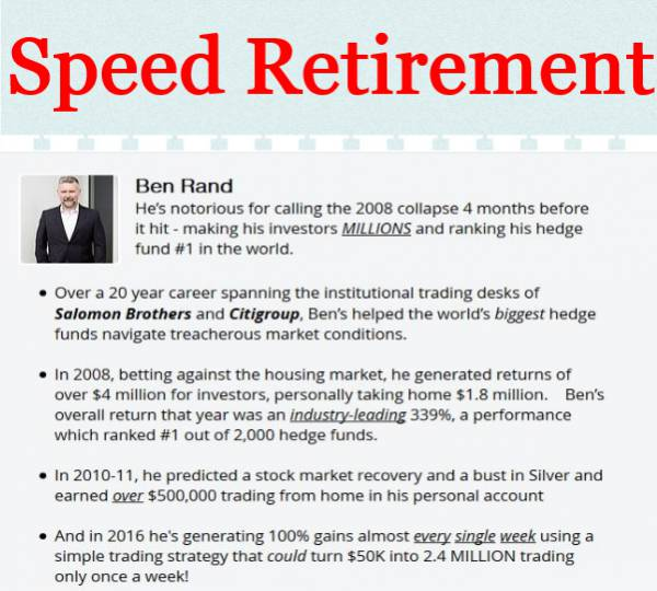 Speed Retirement